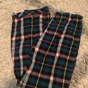 Plaid pj pants